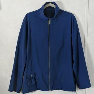 Zenergy Blue Full Zip Activewear Jacket